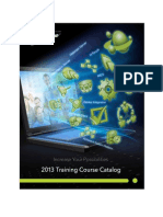 2013 Wonderware Training Catalog RevA