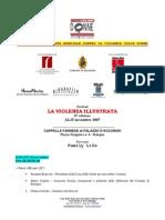 Programa Violenza Illustrata 2007