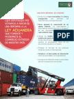 21-10-13 Reforma a la Ley Aduanera