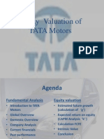 7528420 Fundamental Analysis of Tata Motors 10 September 2008