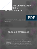 SINDROME CEREBELOSO, PIRAMIDAL