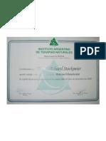Certificado - Medicina Or to Molecular - Iatena