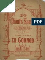 Chants sacrés (Gounod, Charles)