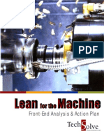 Front-End Analysis - Lean for the Machine (TechSolve)