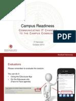 Campus Readiness