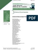 Lista Aprovados - Te Anamt - 2003