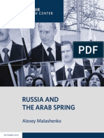 Russia and the Arab Spring