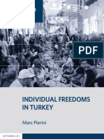 Individual Freedoms in Turkey