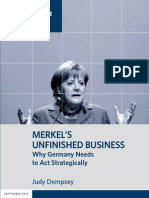 Merkel's Unfinished Business
