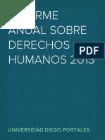 Informe Anual sobre Derechos Humanos en Chile 2013