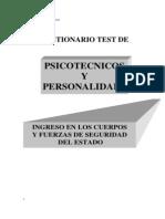 Cuestionarios de Test Psicotécnicos