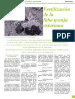 Fertilizacion de La Faba