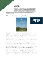 Energía mini eólica revista