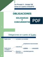 603 Obligaciones Solidarias y Concurrentes - 2013