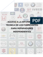 Acceso Informacion Tecnica Fabricantes