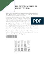 Materiales e Instrumentos de Dibujo Tecnico