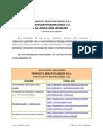 Enlaces Español. SEC. PLANEACION