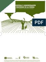 Agroindustria y concentración de la propiedad de la tierra en