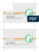 Lab5 Name Card