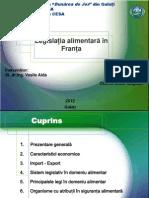 Legislatia Alimentara Franta 2003
