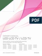 TV LG Ld450c Manual