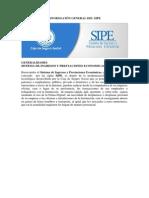 Información General SIPE