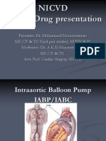 IABC intra aortic balloon counter pulsation nicvd presentation