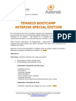 Temario Asterisk Training Special Edition v2013