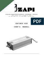 Zapi H2B Manual