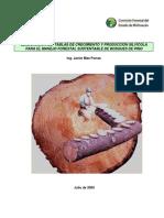 Elaboracion de Tablas de Crecimiento y Produccion Silvicola. Mas Porras, J. 2009
