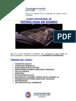 Tecnologia en Sonido 2014
