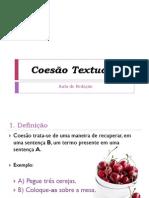 Powerpoint Coesc3a3o Textual