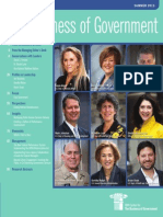 The Business of Government Magazine Summer 2013