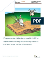 Programación LCL 2013-14- 3º ESO cambiada