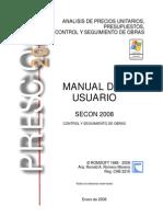 Manual Secon