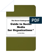 7903800 the Secret Underground Guide to Social Media for Organisations