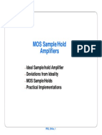 MOS Smaple and Hold Amplifiers