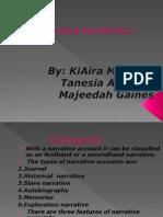 narraive nonfiction