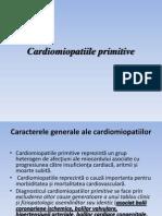 Cardiomiopatiile+Primitive