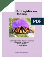 Áreas Protegidas en México