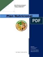 Plan Nutricional Daylenis Ramos