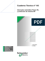 CT-143 Interruptor automático Fluarc SF6