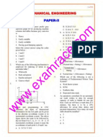 IES Mechanical Engineering Paper 2 2003