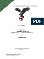 Gottfried Feder  - Los Judíos, La Propiedad Privada, El Programa NS