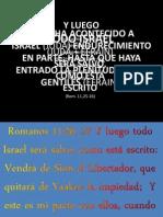Seminario La Restauracion de Israel