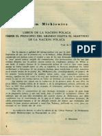 Mickiewicz. Adam - Libros de la nacion polaca desde el principio del mundo hasta el martirio de la nacion polaca.pdf