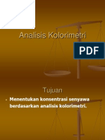 Analisis Kolorimetri