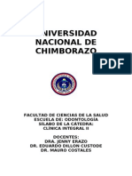 Clinica Integral II