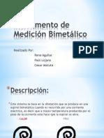 Instrumento de Medición Bimetálico