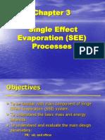 CH-3. Single Effect Evaporation